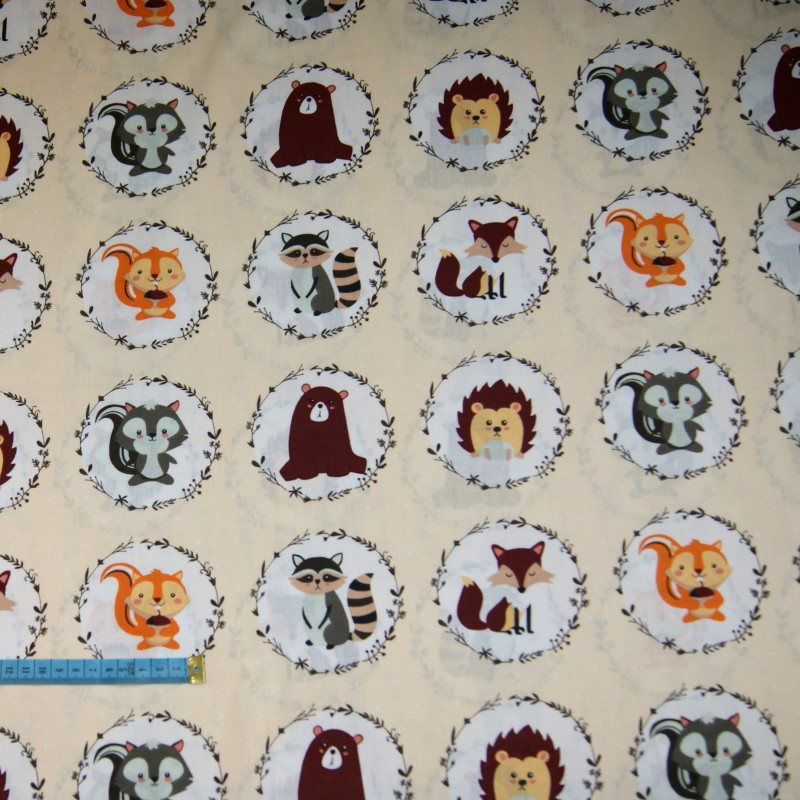 Bawełna portrety zwierząt, indywidualne zamówienia, handmade