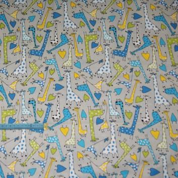 Bawełna żyrafy, indywidualne zamówienie, handmade