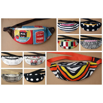 Sewing pattern - fanny pack / sachet with single pocket download for free in pdf