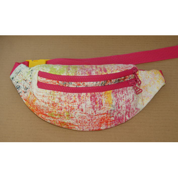 Sewing pattern - fanny pack / sachet with two pockets handmade